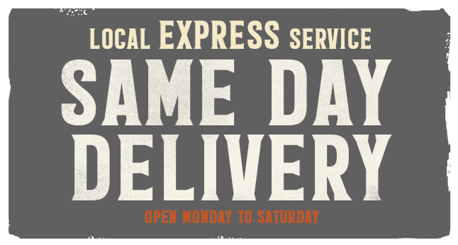 Local express same-day delivery